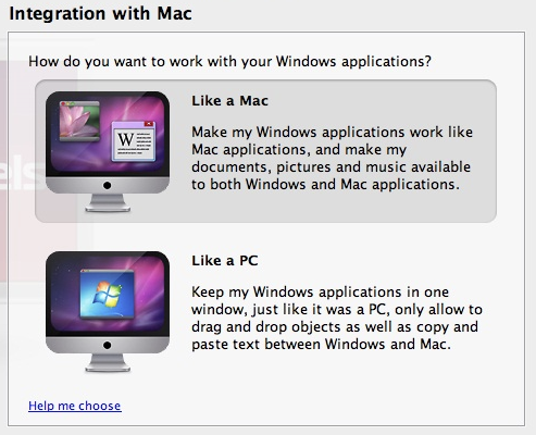 Windows programmer på mac